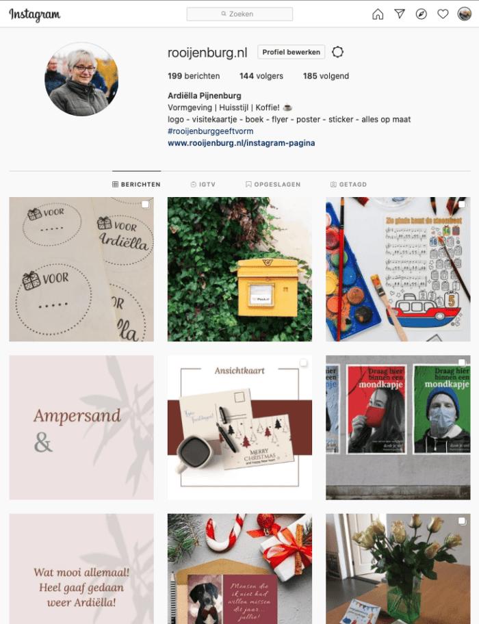 Instagram afmetingen 2021