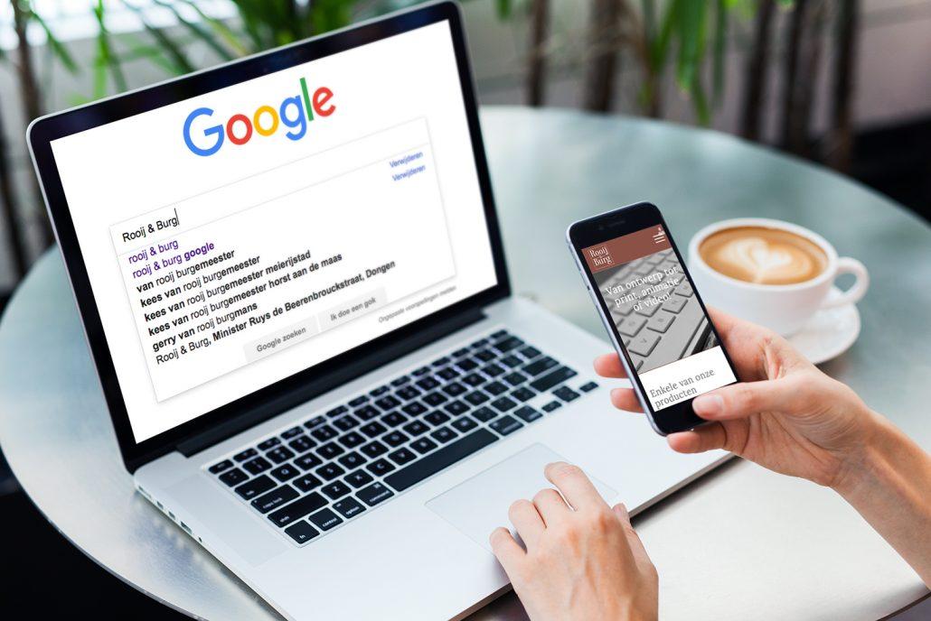 Gevonden worden door klanten en in Google